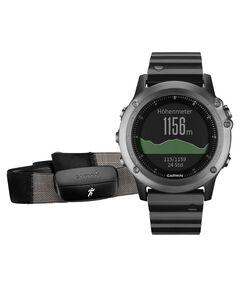 "Mutifunktionsuhr / GPS Uhr ""Fenix 3 - Saphir Performer Bundle"" dunkelgrau"