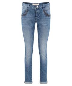 "Damen Jeans ""Naomi Shine Stitch"" Regular Fit lang"