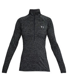 "Damen Trainingsshirt ""New Tech 1/2 Zip"" Langarm"