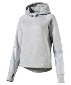 "Damen Trainingssweatshirt ""Evostripe Hoody"" Langarm"