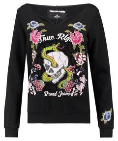 "Damen Sweatshirt ""Crew Sweat Flower"""