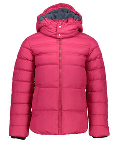 Girls Steppjacke mit Kapuze