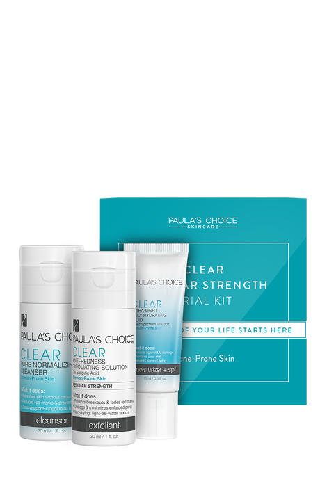Clear Regular Strength Trial Kit
