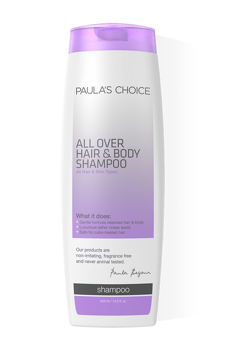 All Over Hair and Body Shampoo