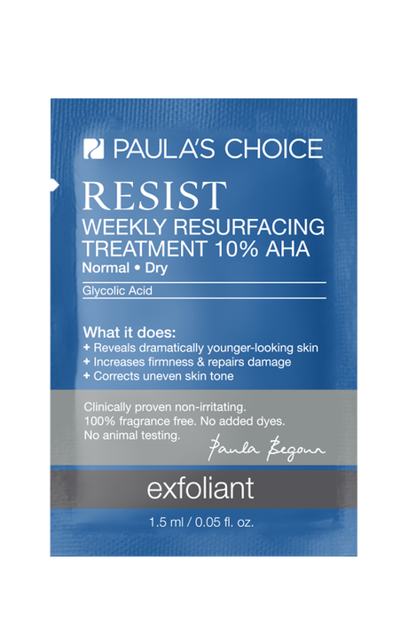 Resist Anti-Aging Weekly Resurfacing Treatment AHA Sample