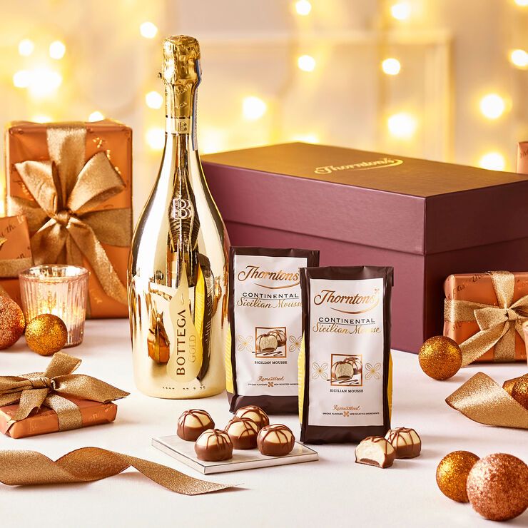 Prosecco And Chocolate Hamper Alcohol Hampers Thorntons